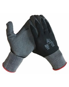 10318 PU-werkhandschoen met nitril foam coating