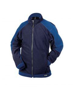 Dassy Kazan tweekleurig fleecevest Navy-Royal blue