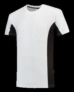 T-Shirt Bicolor Borstzak