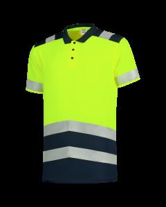 Poloshirt High Vis Bicolor