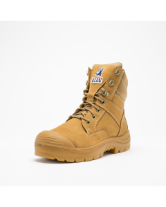 Steel Blue Southern Cross S3 Wheat Nubuck, show