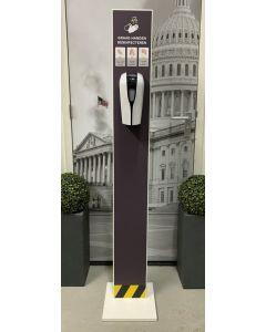 Desinfectiezuil standaard met touchless dispenser