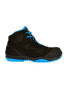 Sixton Cuban High Zwart/Blauw Air ESD S3 SRC
