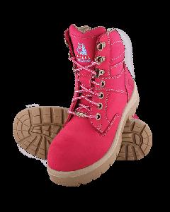Steel Blue Southern Cross S3 Pink damesschoen
