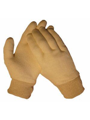 10085 Katoenen tricot handschoen met boord