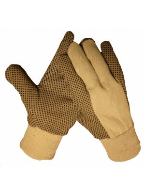10092 Katoenen polkadot handschoen