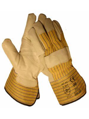 Werkhandschoen rund/boxleder 10192.P