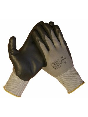 10317 PU-werkhandschoen met nitril foam coating