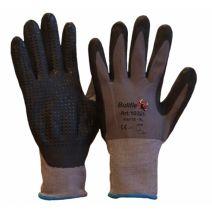 10325 Werkhandschoen nitril foam coating met nopjes