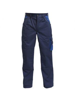 2600-785-68 FE Engel tweekleurige werkbroek met kniezakken(Navy/Royal blue)