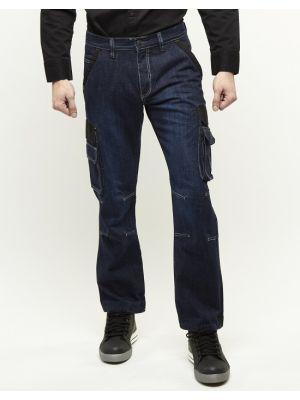 247 Jeans Grizzly D30 Dark werkbroek